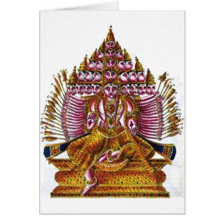 Maha Sada Shiva Card