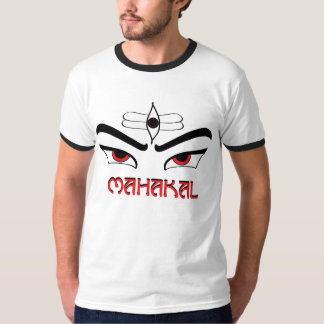 mahakal white T-Shirt