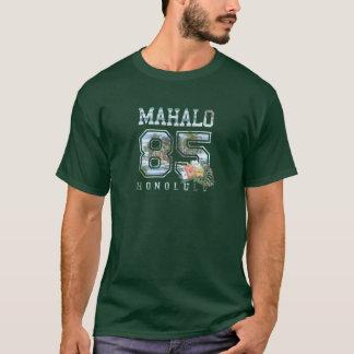 Mahalo Honolulu, Collegiate 85, Honolulu T-Shirt
