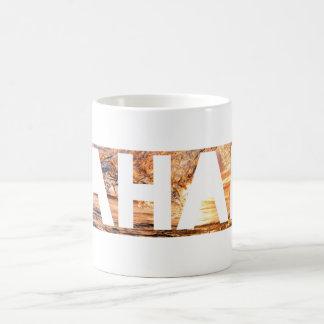 Mahalo Basic White Mug