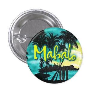 Mahalo Sunset Pin
