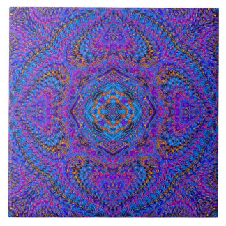 """Maharani"" Indian-Style Mandala Tile"
