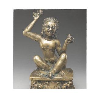 Mahasiddha, the Flower King Notepad