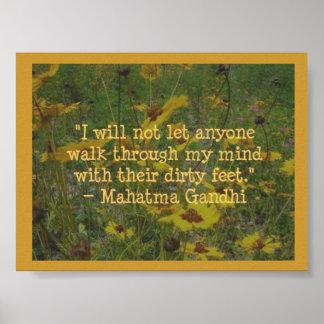 Mahatma Gandhi Poster