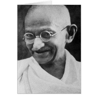 Mahatma Ghandi Portrait Photograph Greeting Card