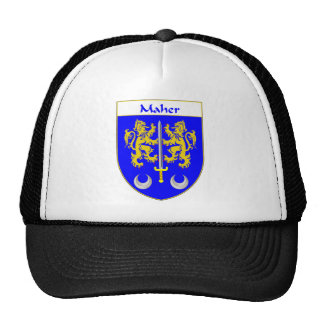 Maher Coat of Arms/Family Crest Hat