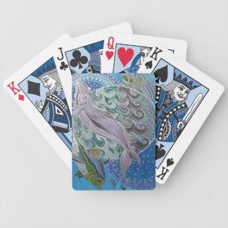 Mahi mahi bicycle playing cards