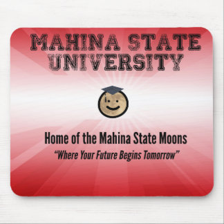 Mahina State Mouse Pad. Mouse Pad