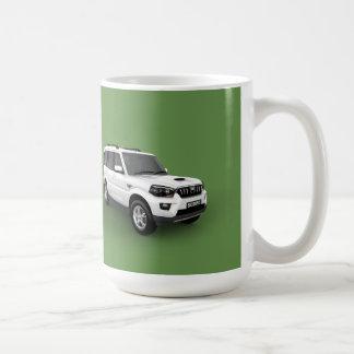 Mahindra Scorpio Mug Green