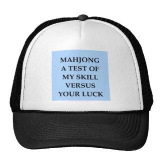 mahjong cap