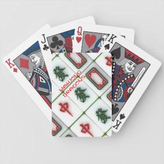 Mahjong-dragons Bicycle Playing Cards