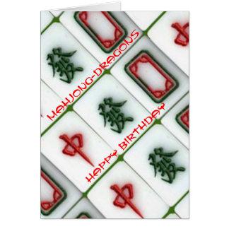 Mahjong-dragons Card