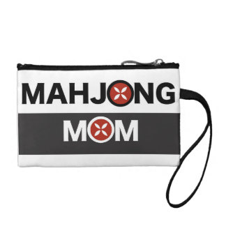 Mahjong Mom O Replaced with MJ Flower Design Coin Wallets