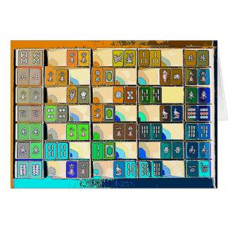 Mahjong Notecard