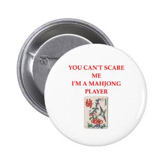 MAHJONG.png 6 Cm Round Badge