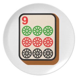 Mahjong Tile Plate