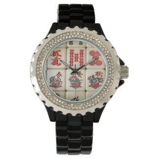 Mahjong tiles watch