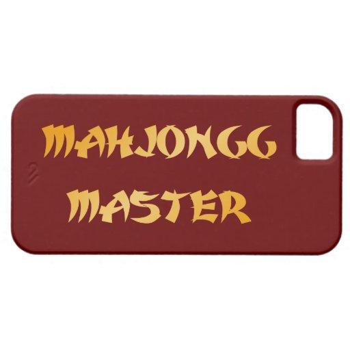 Mahjongg master iPhone 5/5S cases