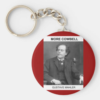 Mahler More Cowbell Keychain