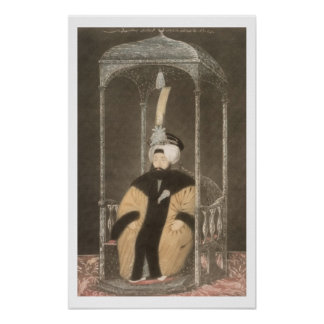 Mahmud II (1785-1839) Sultan 1808-39, from 'A Seri Poster