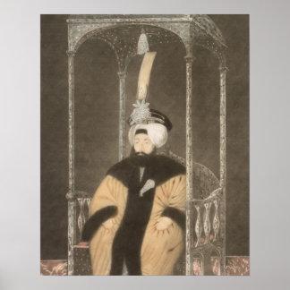 Mahmud II (1785-1839) Sultan 1808-39, from 'A Seri Poster