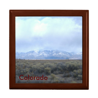 Mahogany Gift Box/Colorado Template Gift Box