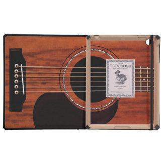 Mahogany Top Acoustic Guitar iPad Cover