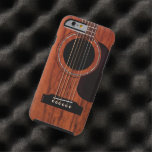 Mahogany Top Acoustic Guitar Tough iPhone 6 Case