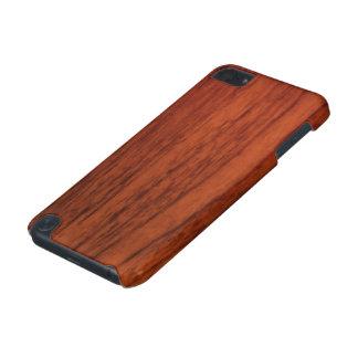 Mahogany Wood Print iPod Touch 5G Case