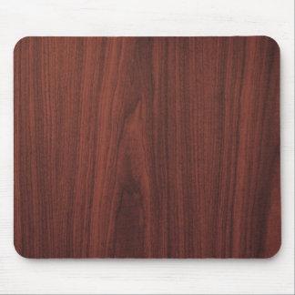 Mahogany Wood Texture Mouse Pad