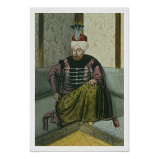 Mahomet (Mehmed) IV (1642-93) Sultan 1648-87, from Print