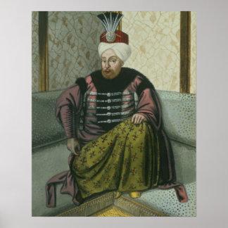 Mahomet Mehmed IV 1642-93 Sultan 1648-87 from Print