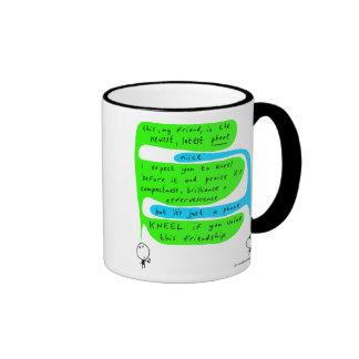 mahoney joe - newest phone ringer coffee mug