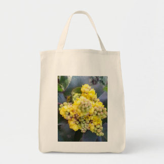 Mahonie; Oregon Grape shopping bag