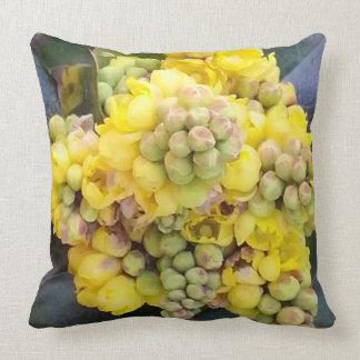 Mahonie Oregon Grape Zierkissen 50.1 cm x 05.1 cm Throw Pillow