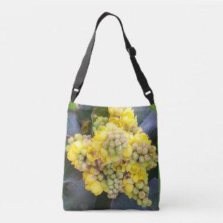 Mahonie Oregon GrapeTrageta with long carriers Crossbody Bag