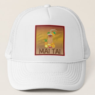 Mai Tai Cocktail Trucker Hat