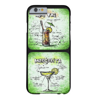 Mai Tai/ Margarita Recipe Design Barely There iPhone 6 Case