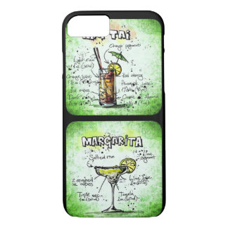 Mai Tai/ Margarita Recipe Design iPhone 7 Case