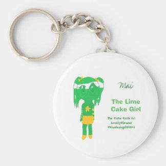 Mai The Lime Cake Girl Keychain