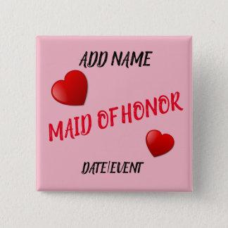Maid of Honor Bachelorette Pin