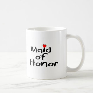 Maid of Honor Basic White Mug