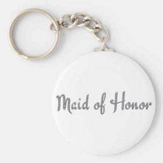 Maid of Honor bling keychain