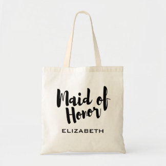 Maid of Honor Bridal Party Wedding Tote