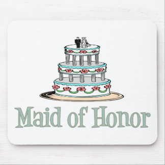Maid Of Honor (Cake) Mouse Pad