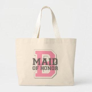 Maid of Honor Cheer Jumbo Tote Bag