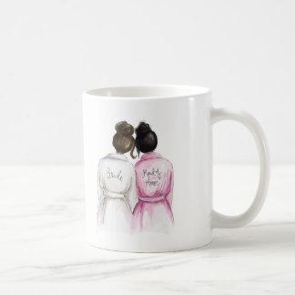 Maid of Honor? Dk Br Bun Bride Bk Bun Maid Coffee Mug