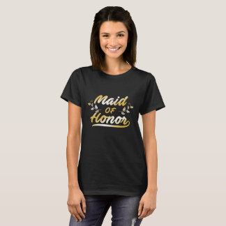 Maid Of Honor, Entourage Wedding T-Shirt
