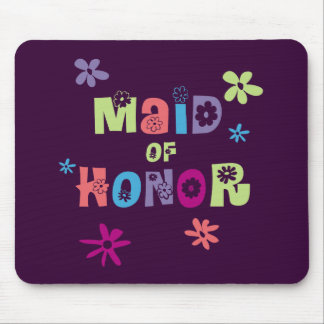 Maid of Honor Gifts and Favors Mousepads