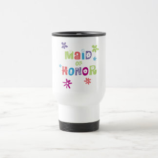Maid of Honor Gifts and Favors Travel Mug